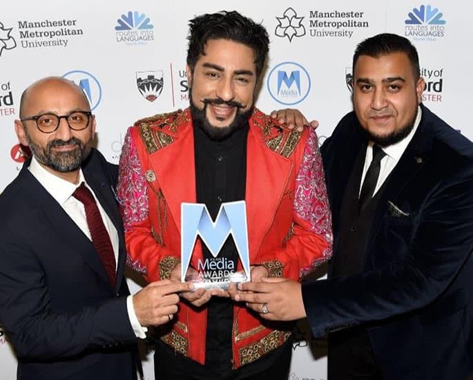 The Asian Media Awards 2019 Winners - Bobby Friction