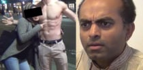 US Pakistani Man reacts badly to Wife flirting with Bodybuilder f