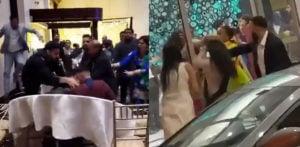 Violent and Shocking Fights erupt at UK Indian Wedding f