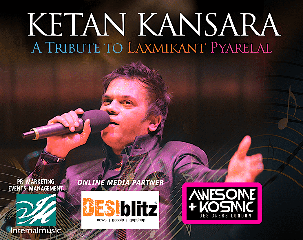 Win Tickets for Ketan Kansara: A Tribute To Laxmikant Pyarelal - IA 1