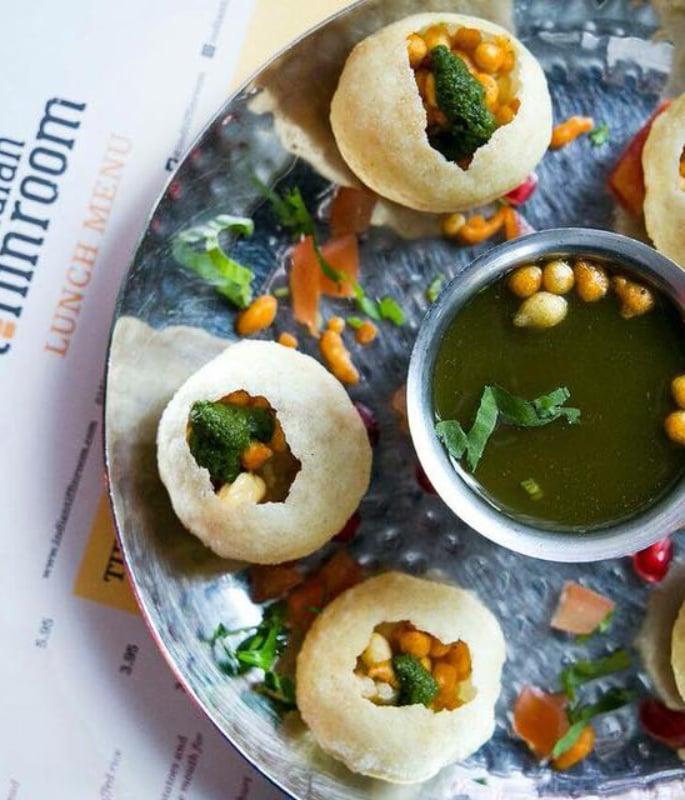 यूके-ia10 में शीर्ष 10 भारतीय स्ट्रीट फूड भोजनालय