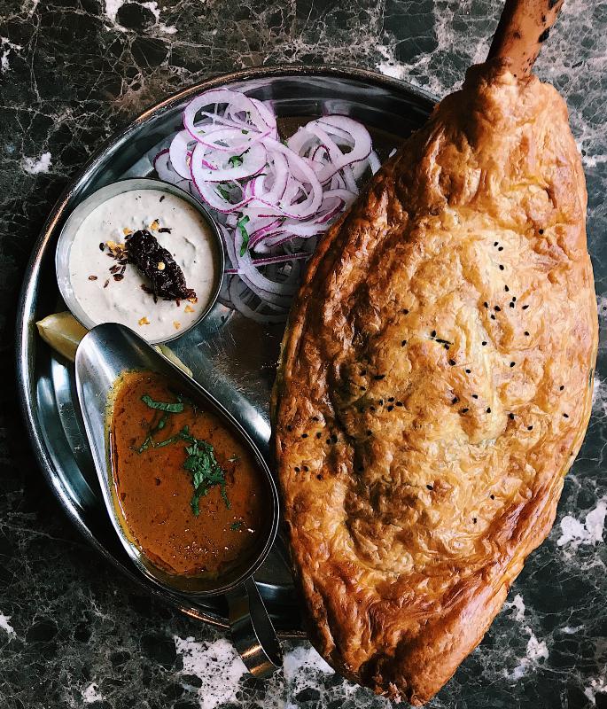 यूके-ia10 में शीर्ष 9 भारतीय स्ट्रीट फूड भोजनालय