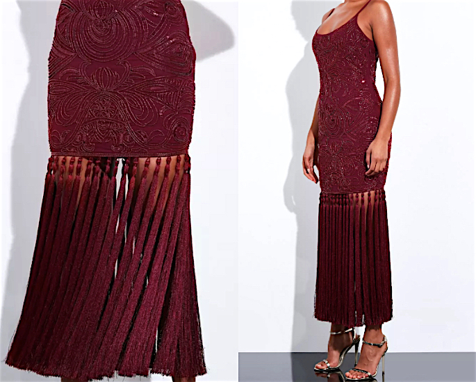 10 Party Dresses for the Holiday Season - burgundy