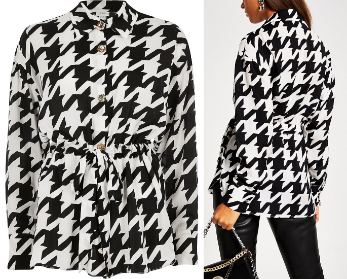 7 Modest Blouse & Top Designs for Modern Women - black and white