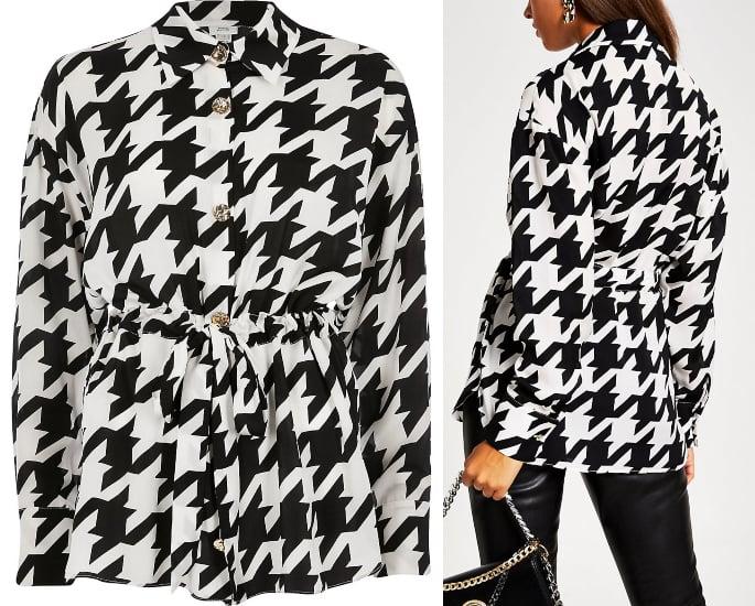 आधुनिक महिलाओं के लिए 7 मामूली ब्लाउज और शीर्ष डिजाइन - काले और सफेद