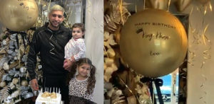 Amir Khan celebrates 33rd Birthday with Family in Style f