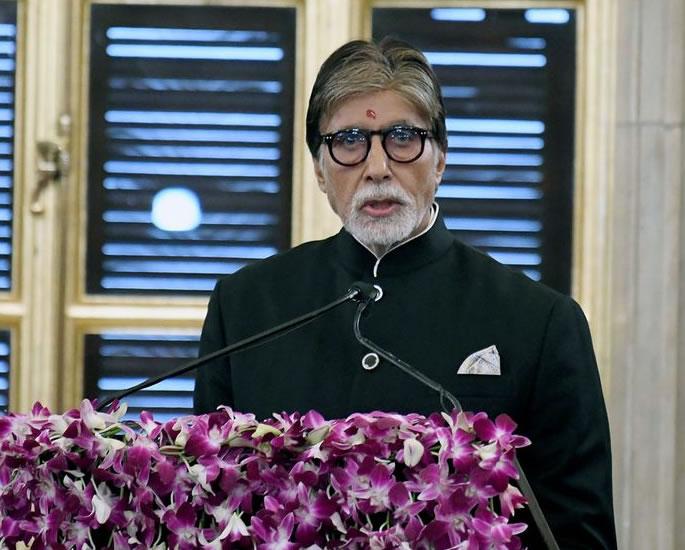 Amitabh Bachchan receives the Dadasaheb Phalke Award - speech