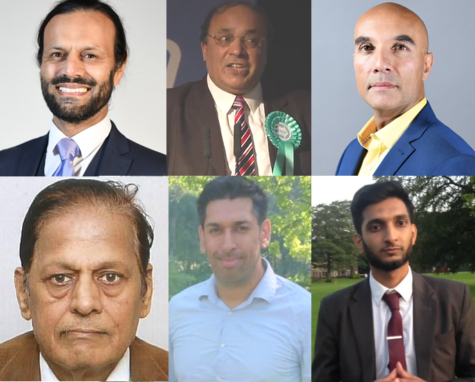 Asian Candidates standing in UK General Election 2019 - brexit