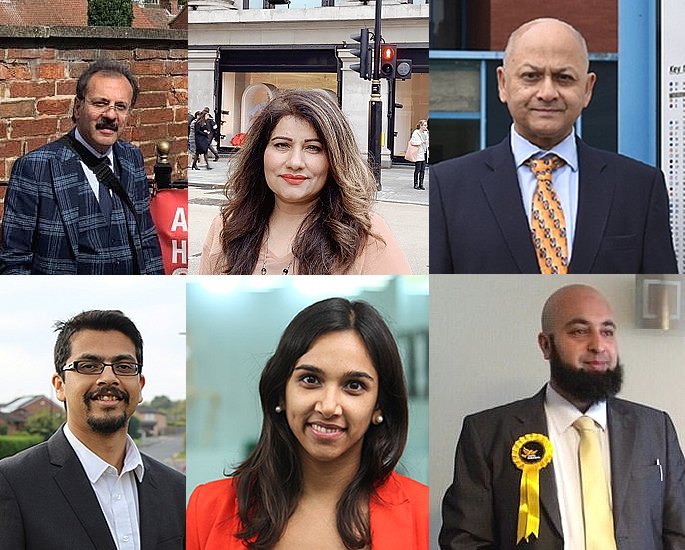 Asian Candidates standing in UK General Election 2019 - lib dem