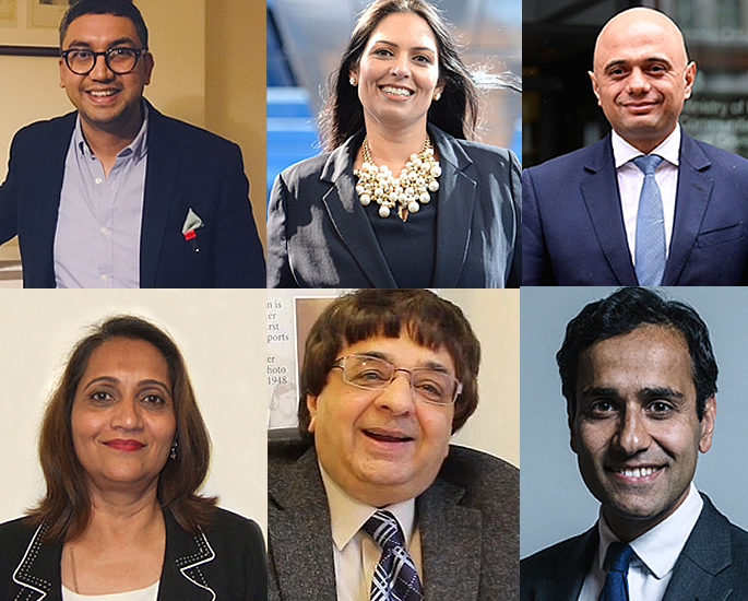 Asian Candidates standing in UK General Election 2019 - tory