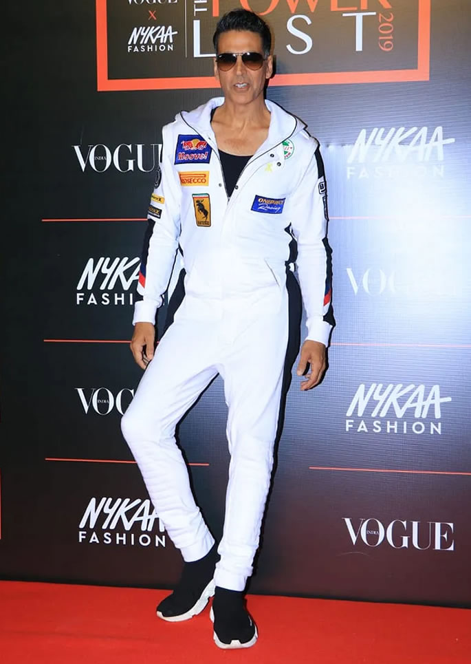 Best Dressed Bollywood Stars at Vogue Power List 2019 - Akshay Kumar