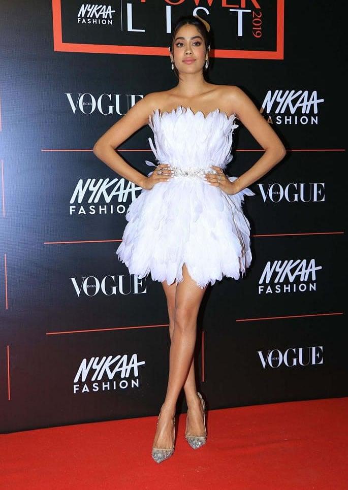 Best Dressed Bollywood Stars at Vogue Power List 2019 - Janhvi