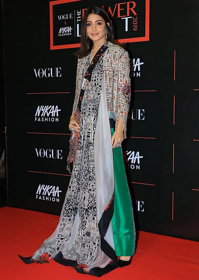 Best Dressed Bollywood Stars at Vogue Power List 2019 - anushka