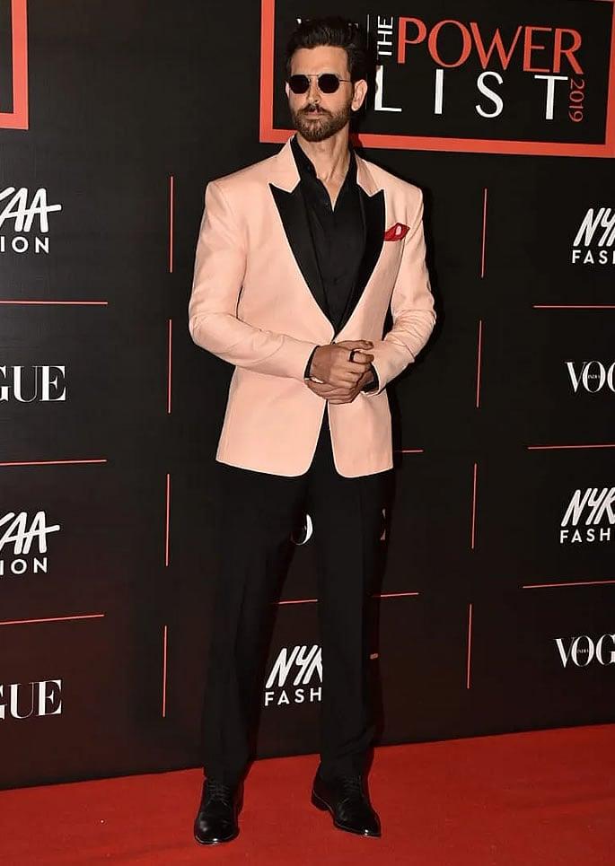 Best Dressed Bollywood Stars at Vogue Power List 2019 - hrithik