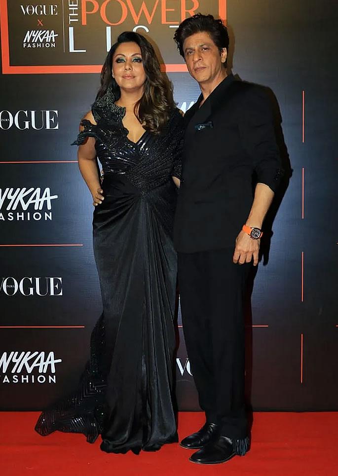 Best Dressed Bollywood Stars at Vogue Power List 2019 - srk