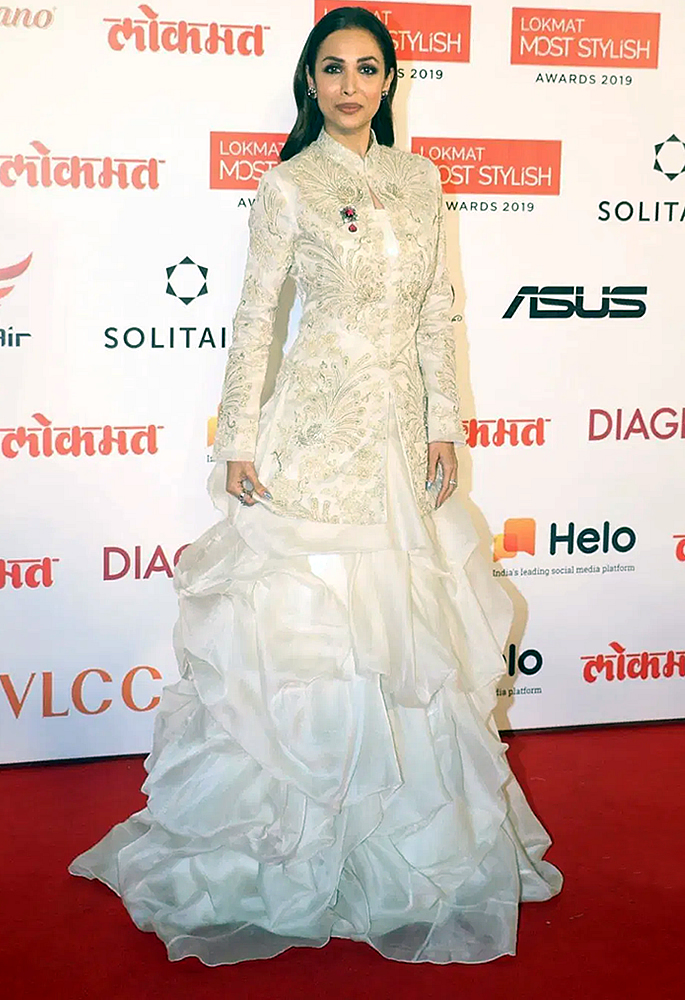 Bollywood Oozes Ethnicity at Lokmat Most Stylish Awards - Malaika