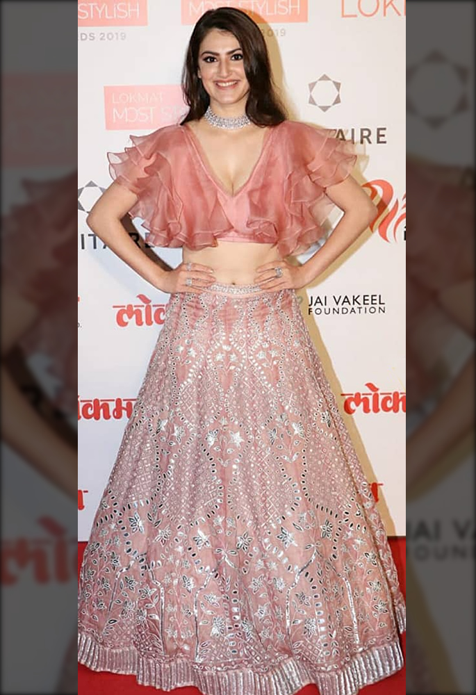 Bollywood Oozes Ethnicity at Lokmat Most Stylish Awards - Shivaleeka Oberoi