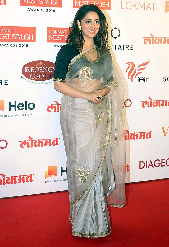 Bollywood Oozes Ethnicity at Lokmat Most Stylish Awards - Yami Gatum