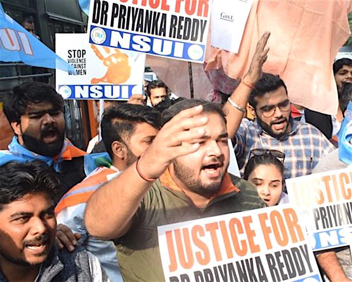 Bollywood Stars condemn Brutal Murder of Dr Priyanka Reddy - protest