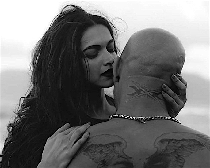Deepika talks working with Vin Diesel for xXx Movie - kiss