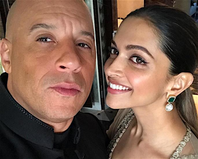 Deepika talks working with Vin Diesel for xXx Movie - selfie