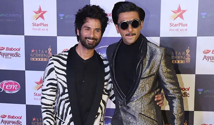 Did Shahid Kapoor walk out of the Star Screen Awards Show - ranveer