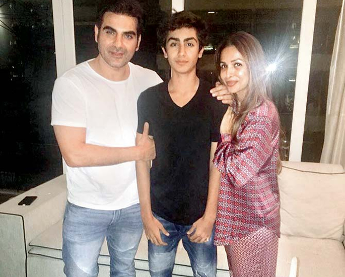 Does Malaiks Son Arhaan accept Arjun as a Family Member- family