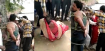 Indian Daughter-in-Law caught with Another Man & Beaten f