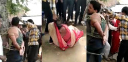Indian Daughter-in-Law caught with Another Man & Beaten