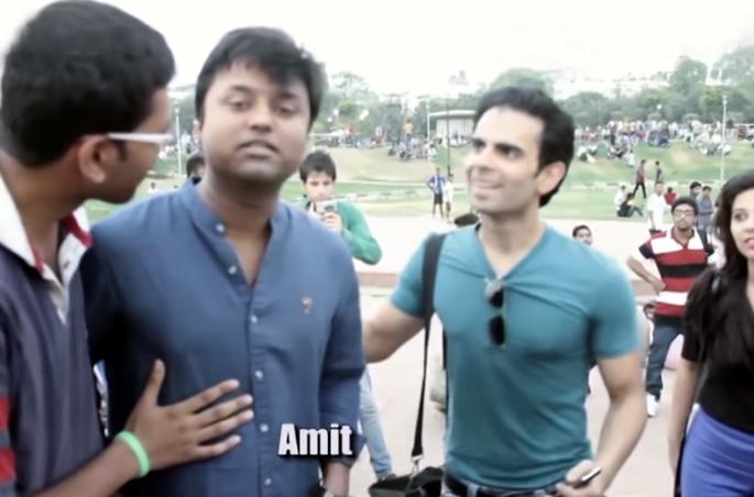 Indian Girls being Harassed Video shows Shocking Result - Amit
