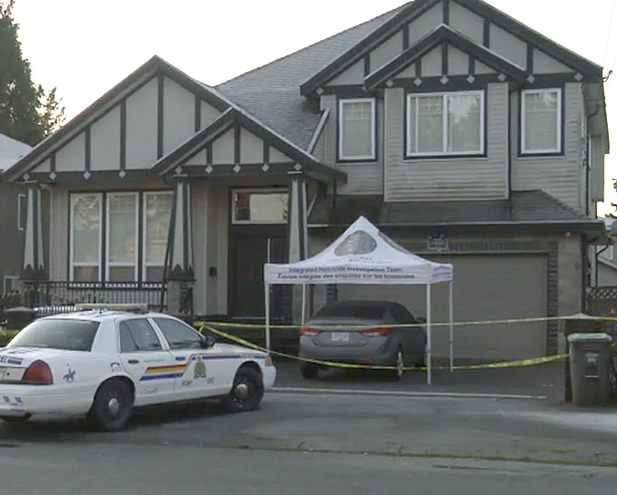 Indian Woman in Canada found Murdered with a Dead Man - house