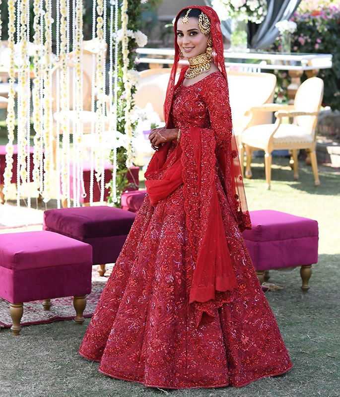 Iqra Aziz & Yasir Hussain get Married in Wonderful Ceremony - outfit