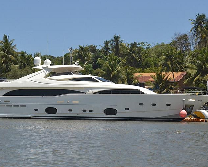Luxury Yachts owned by Indian Business Tycoons - anil