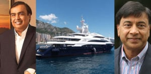 Luxury Yachts owned by Indian Business Tycoons ft