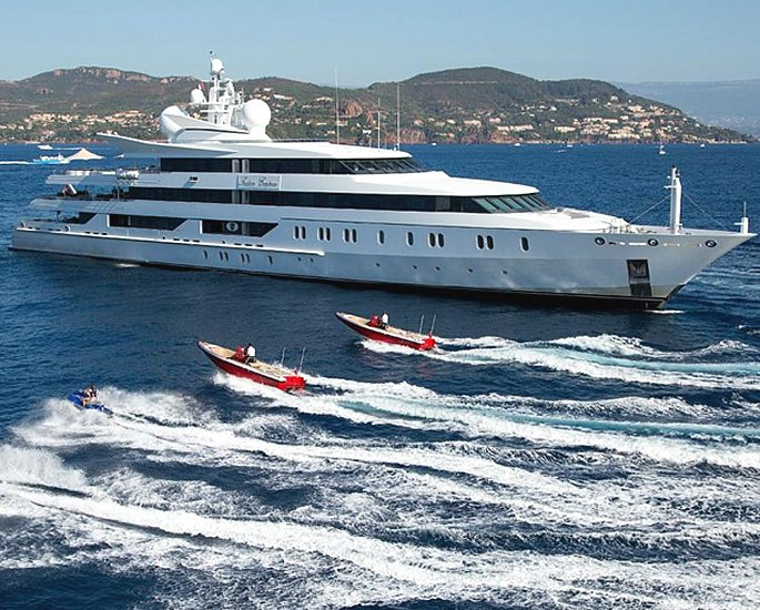 Luxury Yachts owned by Indian Business Tycoons - mallya