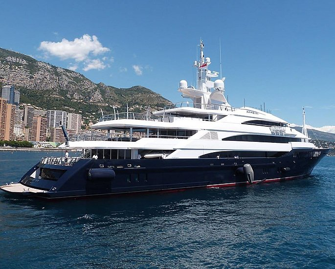 Luxury Yachts owned by Indian Business Tycoons - mittal