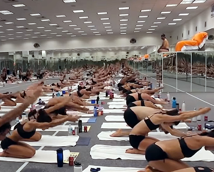 Netflix's 'Bikram' exposes Use of Yoga for Sexual Purpose - class