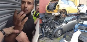 One of UK's Largest 'Chop Shop' Gangs busted by Police f