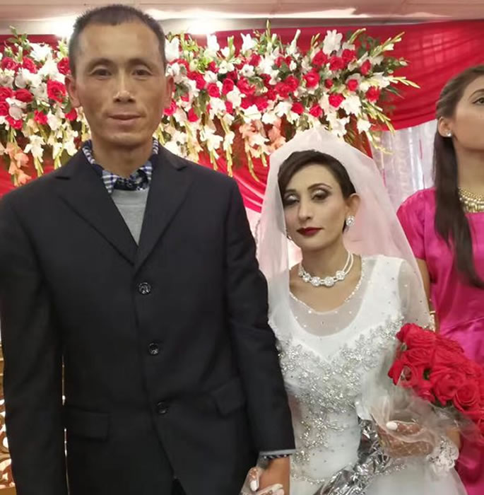 Over 620 Pakistani Girls were Sold as Brides to China - couple