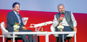 Richard Branson discusses Train Project and Ancestry in India f