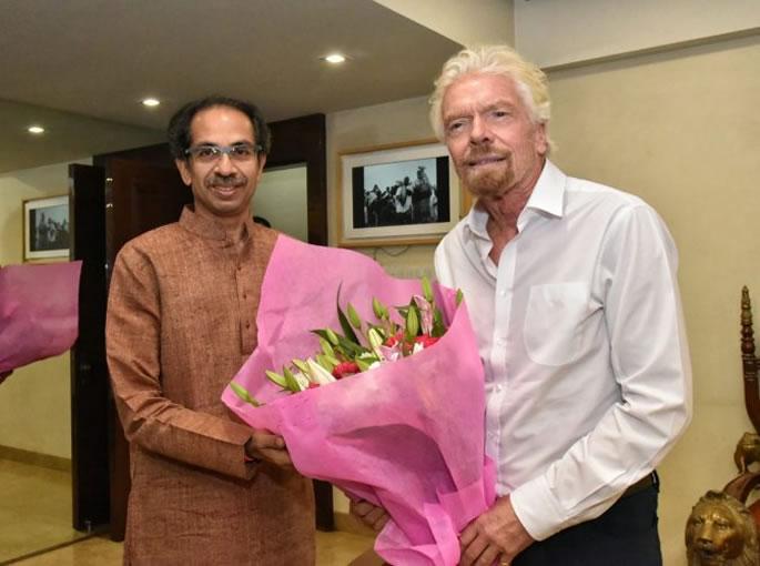 रिचर्ड ब्रॅन्सन यांनी भारतातील ट्रेन प्रोजेक्ट आणि पूर्वज - हायपरलूप यावर चर्चा केली