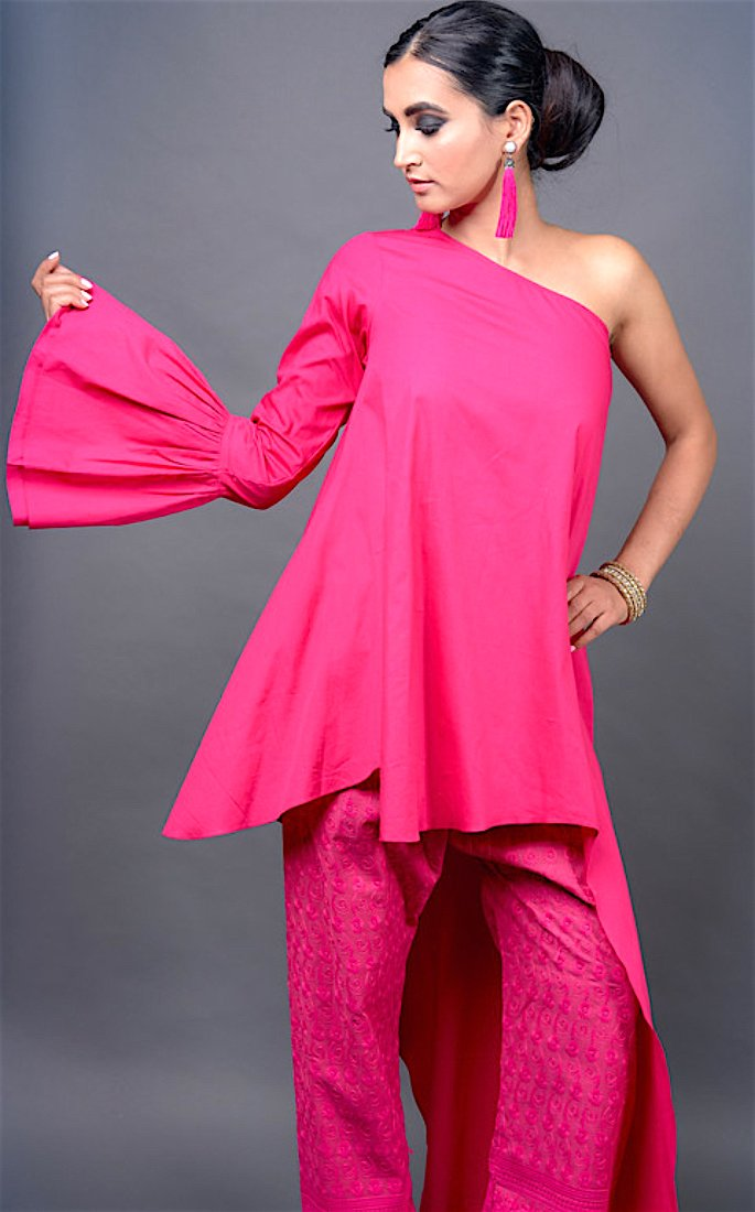 Ruby Bhandari talks Silk Threads and Inspiration - pink