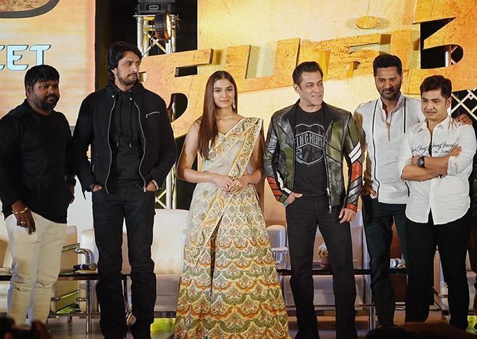 Salman Khan and Cast get Busy with Dabangg 3 Promos- cast