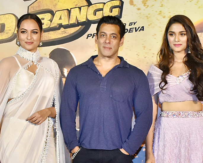 Sonakshi Sinha responds to Salman romancing Young Actresses - dabangg3