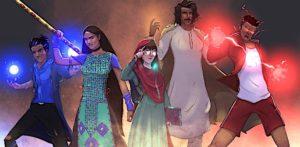 Superhero Comic Series 'PaakLegion' breaking Stereotypes - F