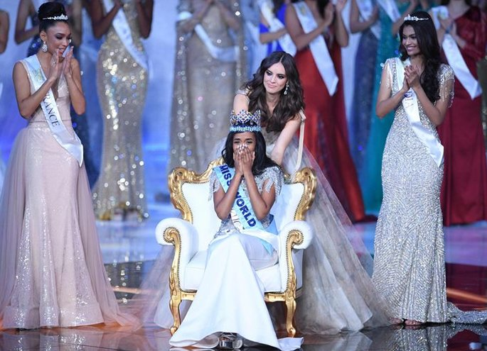 Tony Ann Singh from Jamaica crowned Miss World 2019 - crowned