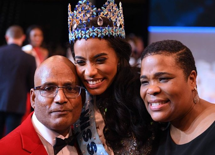 Tony Ann Singh from Jamaica crowned Miss World 2019 - parents