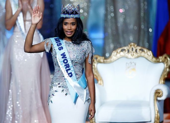 Tony Ann Singh from Jamaica crowned Miss World 2019 - wave