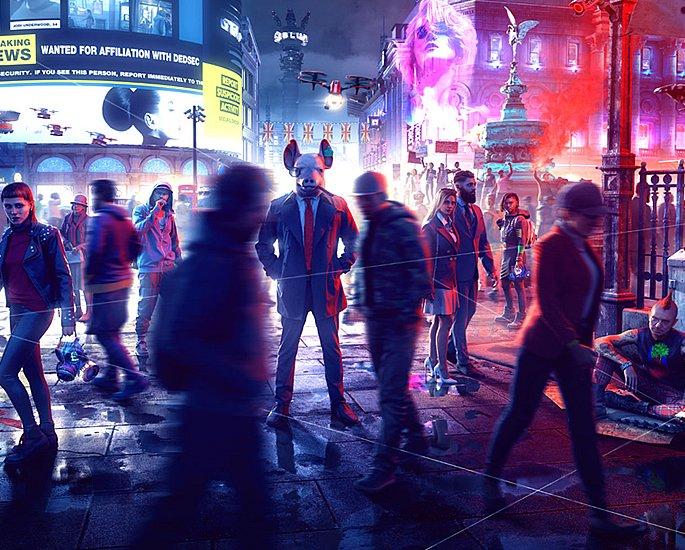 Watch Dogs Legion - Hacking your way across London - anyone