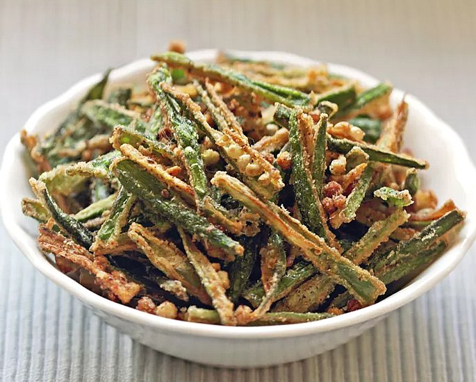 7 Indian Okra Recipes to Make at Home - fried